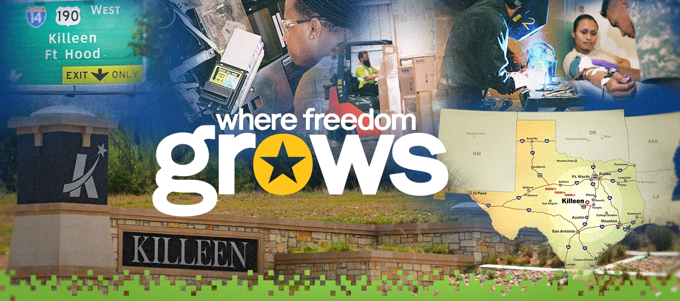 Killeen EDC - Where Freedom Grows Banner